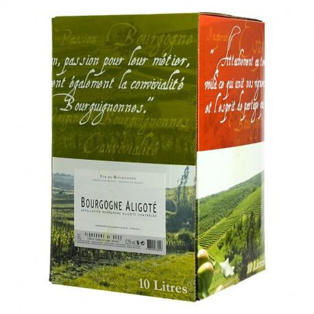 Bourgogne Aligoté Vignerons de Buxy BIB 10 Litres
