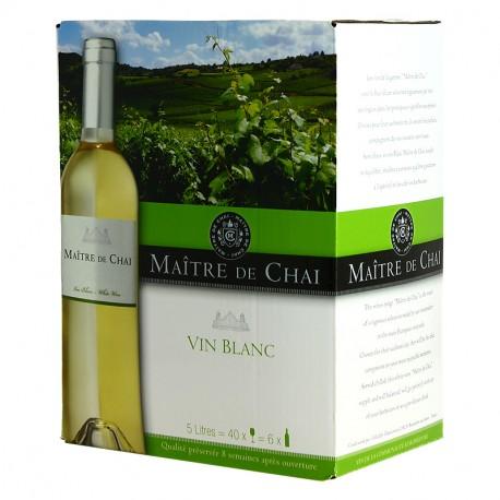 Cubi Maître de Chai blanc 5L