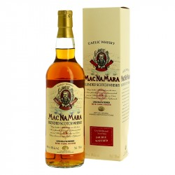 Whisky Blend Mac Na Mara Finition en fût de RHUM Whisky Gaélique 70 cl