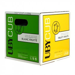 Domaine Uby Blanc Sec Côtes de Gascogne IGP  Ubycub BIB 5L