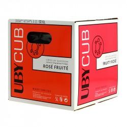 Domaine Uby Vin Rouge Côtes de Gascogne IGP UBYCUB BIB de 5L