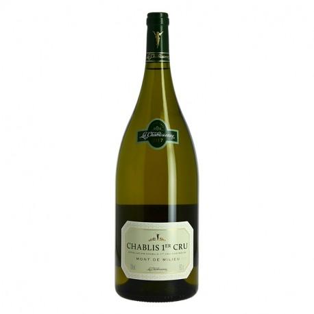 Chablis Mont de Milieu 1er Cru La Chablisienne Magnum 1.5 l Vin Blanc Sec de Bourgogne