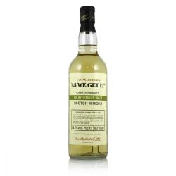 Islay Single Malt AS WE GET IT par Ian MacLeod Cask Strenght Whisky