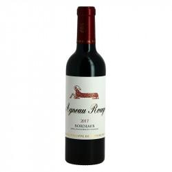AGNEAU ROUGE Vin Rouge de Bordeaux Demi Bouteille