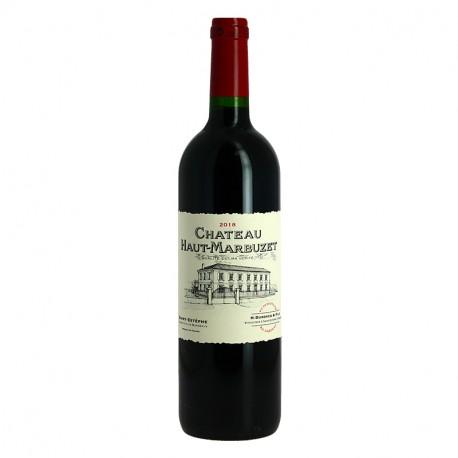 Château HAUT MARBUZET 2018 St Estèphe Vin de Bordeaux Rouge
