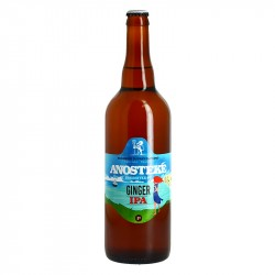 Bière Anosteke Freestyle Brassin 7 Bière Ginger IPA 75 cl
