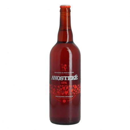 ANOSTEKE IPA Bière Blonde Artisanale 75CL