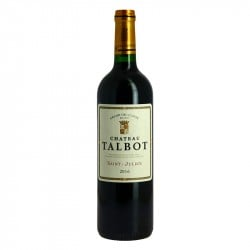 Château Talbot 2016 Saint Julien Grand Vin Rouge de Bordeaux