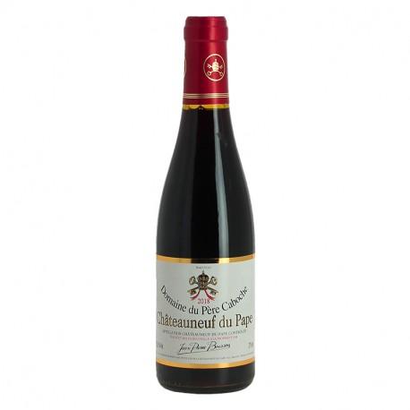 Chateauneuf du Pape Domaine du Père Caboche Demi Bouteille de vin rouge
