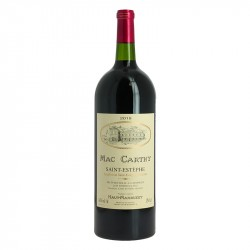 Mac Carthy 2018 Saint Estèphe Vin rouge de Bordeaux Magnum 1.5 l