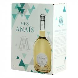 BIB Miss Anaïs Vin Blanc Chardonnay Viognier 3 Litres