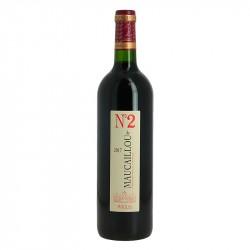 N°2 de Maucaillou Moulis en Médoc Second Vin du Château Maucaillou