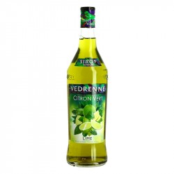 Sirop de Citron vert Lime Vedrenne 1L