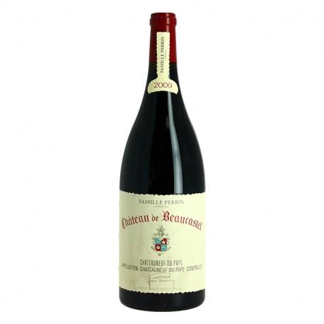 Châteauneuf du Pape BEAUCASTEL 2009 rouge Famille Perrin MAGNUM 1.5 L