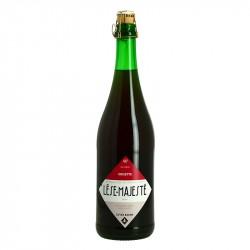 Bière Lèse Majesté Grisette Bière à la Mûre par la Brasserie au Baron 75 cl