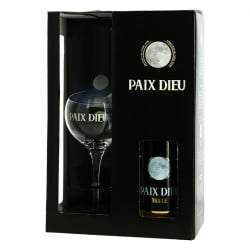 Coffret Cadeau Bière PAIX DIEU Triple 1 x 75 cl + 1 verre