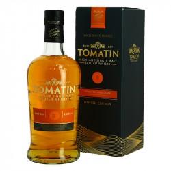 TOMATIN 8 ans Highland Single Malt Scotch Whisky finition fût de Moscatel