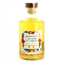 Cognac Arrangé Rhubarbe Fruits Exotiques Duché d'Aquitaine 70 cl