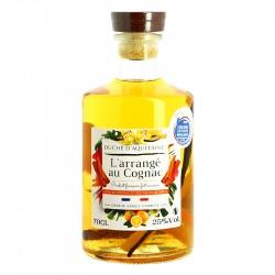 Cognac Arrangé Orange Vanille Cannelle Duché d'Aquitaine 70 cl