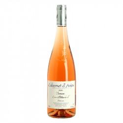 CABERNET d'ANJOU vin rosé demi Sec Domaine ALLAUME