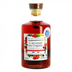 Cognac Arrangé aux fuits rouges Duché d'Aquitaine 70 cl