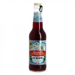 La Bleue Brasserie du Mont Blanc Bière à la Myrtille