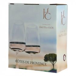 BIB 3 Litres Côtes de Provence Rosé Hauts Du Clos