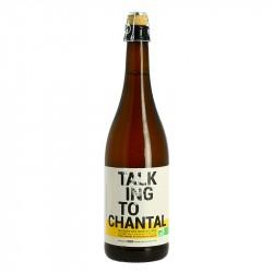 TALKING To CHANTAL Bière Blonde Bio non filtrée par Jenlain 75 cl