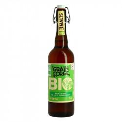 GRAIN D'ORGE Bière Blonde Biologique