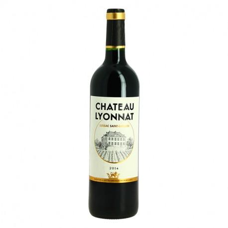 Château Lyonnat Vins Rouge Bordeaux Lussac Saint Emilion Milhade