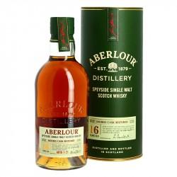 Whisky ABERLOUR 16 ans Double Cask matured Speyside Single Malt Whisky 70 cl