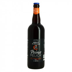 Bière Prima Melior Bière Ambrée de l'Abbaye de Clairmarais 75 cl