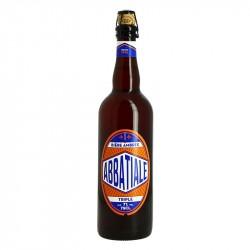 ABBATIALE Bière Triple Ambré  75 cl