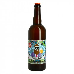 La Jean Bière Funky Bière Biologique 75cl