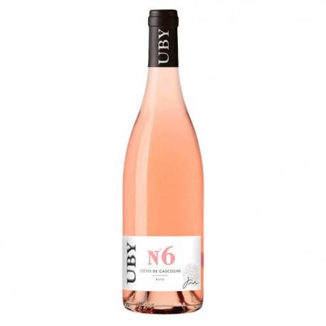 UBY Rosé n°6 Domaine UBY Vin de Pays des Côtes de Gascogne