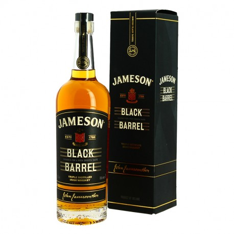 Jameson Select Reserve Black Barrel Whiskey Irlandais 70 cl