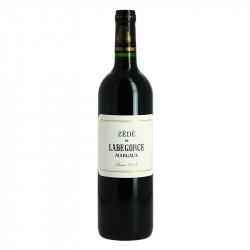 Zédé de Labegorce Margaux 2017 75 cl, second vin du Château Labégorce.