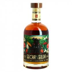 SECHA de la SILVA boisson alcoolisée à base du Rhum du Guatemala, de Café et de Cacao 70 cl