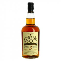 The Real McCoy 5 ans Single Blended Rum by Foursquare 70 cl