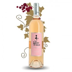 Les Jolies Filles Côtes de Provence Rosé 2015 75 cl