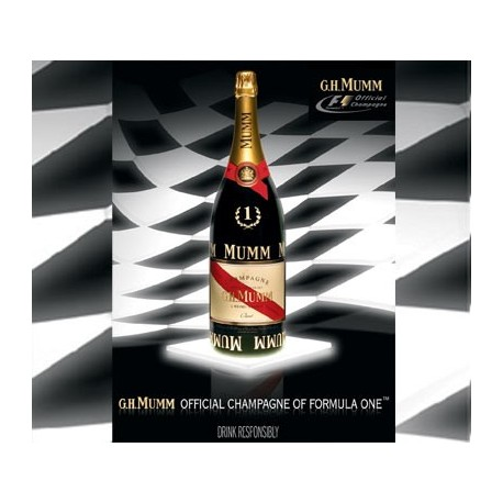 CHAMPAGNE G H MUMM Cordon Rouge MAGNUM VICTORY