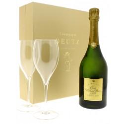 Champagne Deutz CUVEE WILLIAM DEUTZ 2000 + 2 FLUTES