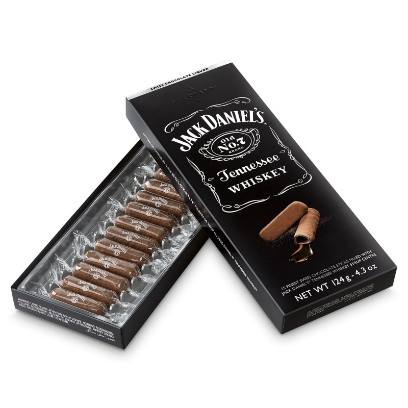 chocolat noir au jack daniel 39 s boite cadeau 124g. Black Bedroom Furniture Sets. Home Design Ideas