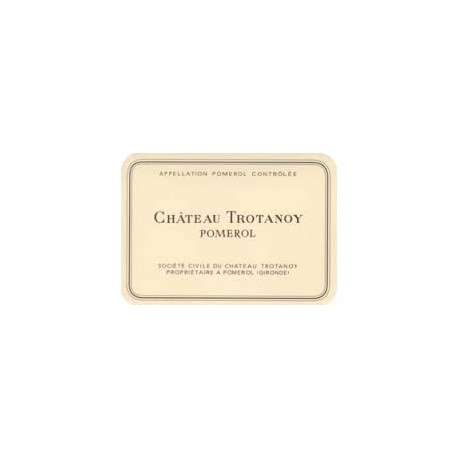 Château TROTANOY Pomerol 2018 75 cl