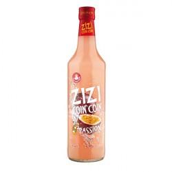 ZIZI COINCOIN Apéritif à la liqueur de PASSION 70CL