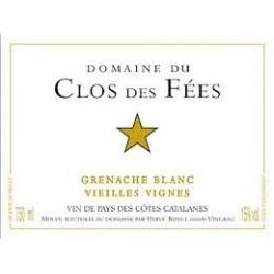 GRENACHE BLANC vieilles vignes du domaine du CLOS DES FEES par Hervé Bizeul 75 cl 2014