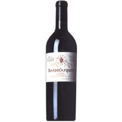 BARON d'ARQUESvin  LIMOUX ROUGE  1998 ROTHSCHILD 75 CL