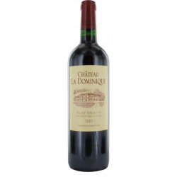 CHATEAU LA DOMINIQUE 2007 SAINT EMILION GRAND CRU CLASSE 75 CL