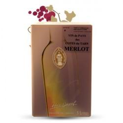 Vignié Lourac Merlot 5 Litres