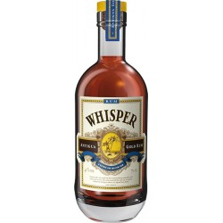 WHISPER Gold Rum Antigua Rhum Traditionnel